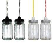 vintage jar pendant light - agee jar light, vintage agee jar light, agee jar ... - Green with Envy