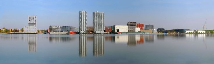 Skyline, Almere, The Netherlands