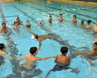 Registration for free Learn to Swim lessons begins June 14n through NYC Parks & Recreation Dept