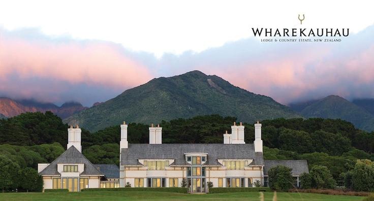 Wharekauhau Lodge. Martinborough, New Zealand. Luxury Resorts.