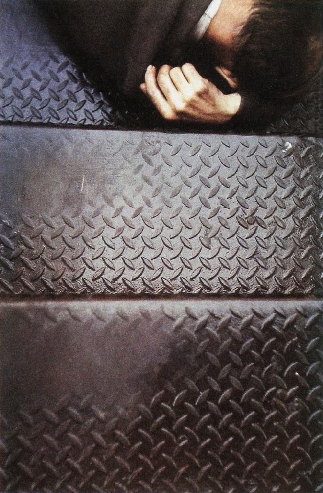 Tanager Stairs - Saul Leiter, 1954.