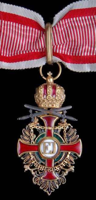 Order of Franz Joseph, commander. Austrian military award