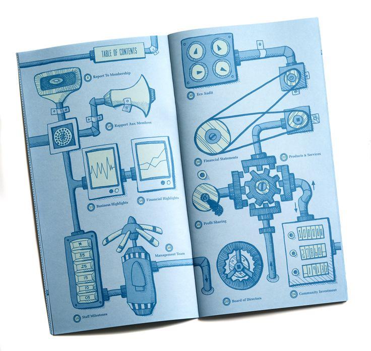 More hand inked illustration