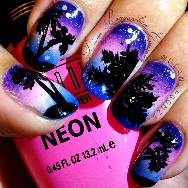 64 best nail design ideas images on pinterest nail art nail im guessing that these are stick on nails but who knows prinsesfo Gallery