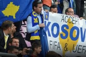 Image result for kosovo soccer fans