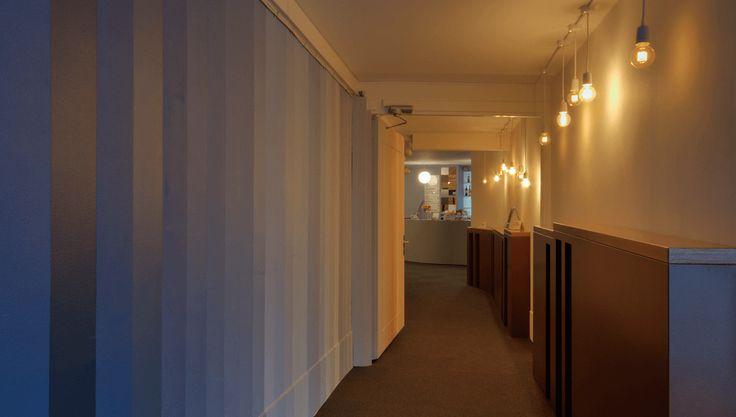 Interior design for Gloria – a small art cinema located in the center of Copenhagen / Visit www.marialegaardkjeldsen.com for more, details and crediting.