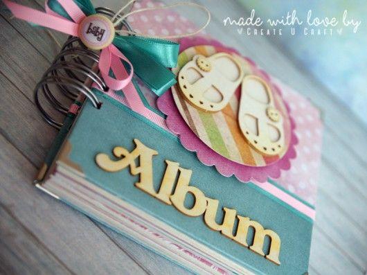 Album 30x30 cm 10 zdobionych kart