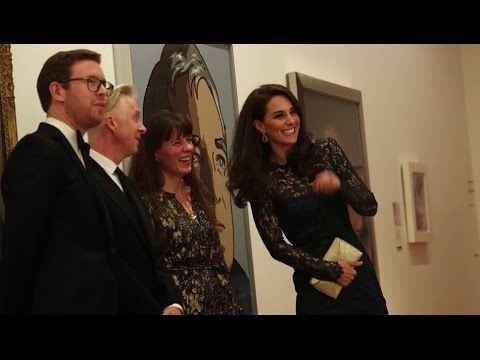 Catherine, Duchess of Cambridge attends the Portrait Gala 2017 at the Na...