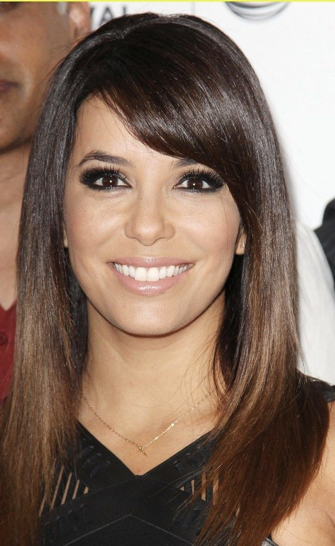 Eva+Longoria+ombre+for+brown+hair