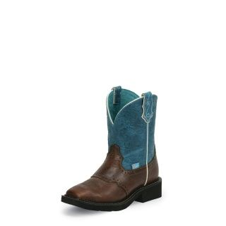 Heel:UNIT Height:8 Insole:J-FLEX FLEXIBLE COMFORT SYSTEM® WITH REMOVABLE ORTHOTIC INSERT Toe:J124, BROAD SQUARE Top Leather:TEAL Color:COGNAC/PEANUT BRITTLE Pullon/Laced:PULLON