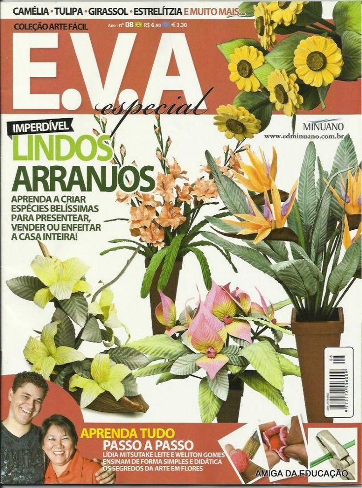 Журнал с мастер-классами по созданию цветов из фоамирана от итальянских коллег vk.com/album-73891638_210092664 и у меня на стене