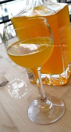 liquore di arance le ricette di tina