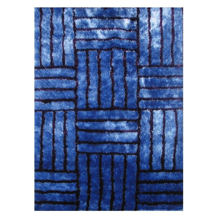 Contempo Gy Multi Color Area Rug Blue 5 X 7