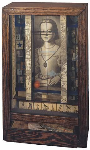 Untitled (Medici Princess) Joseph Cornell — The world seems more interesting since Cornell decided to box up a few details.