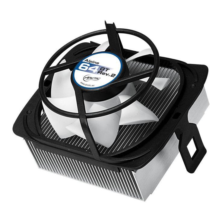 Arctic Cooling Alpine 64 GT Rev.2 CPU Cooler AMD FM2/FM1/AM3(+)/AM2(+)/939/754