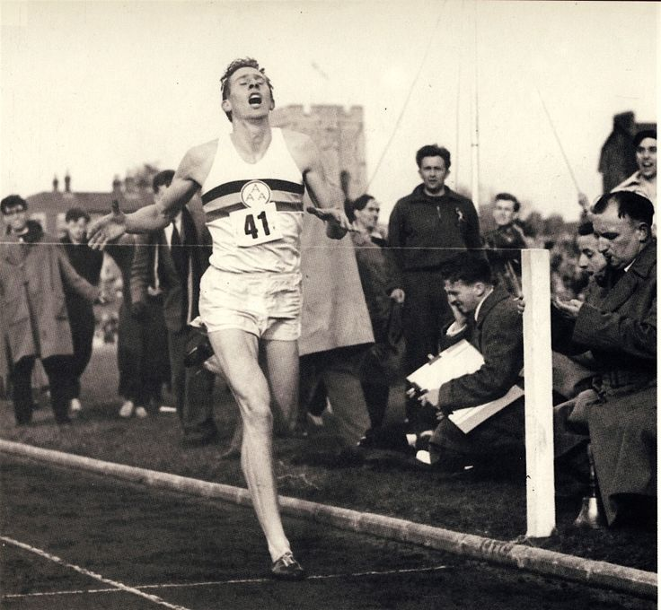Sir Roger Gilbert Bannister. Is an English former athlete best known for running the first mile (1609,34 m) in less than 4 minutes.