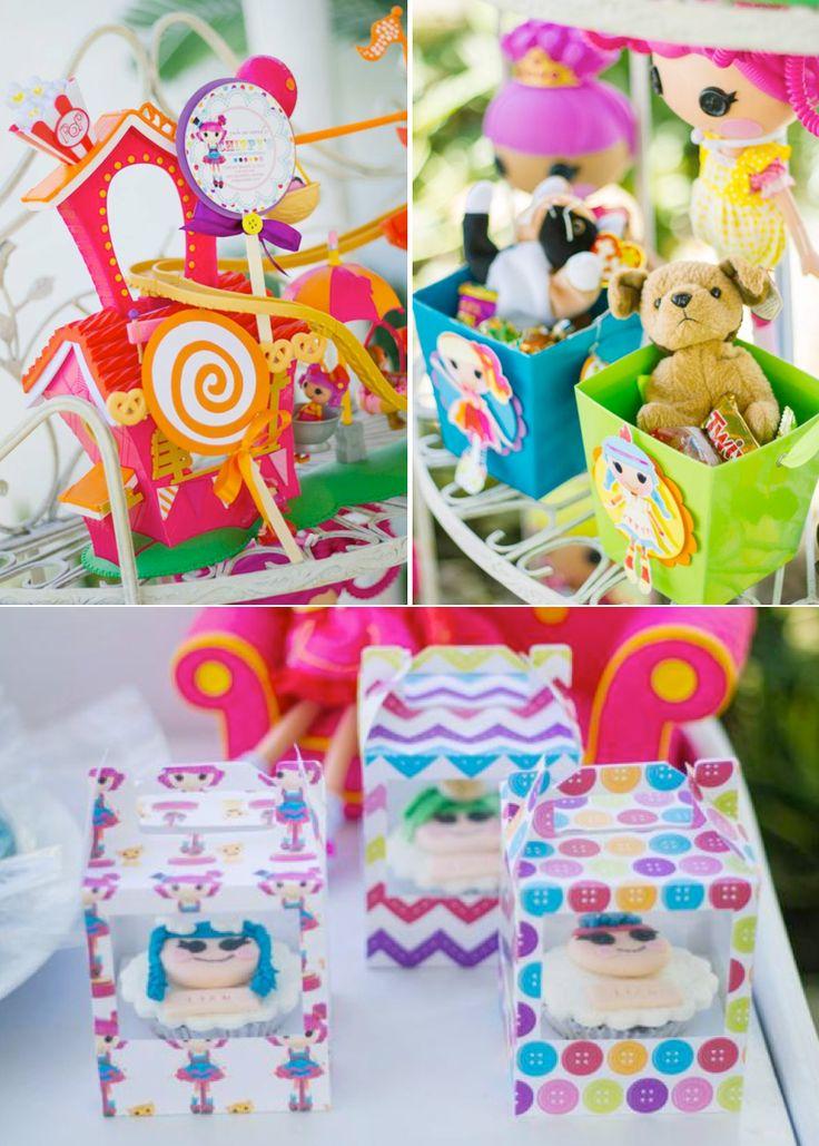 Lalaloopsy themed birthday party FULL of ideas! Via Kara's Party Ideas KarasPartyIdeas.com #lalaloopsy #birthday #party #ideas #supplies #idea #decor