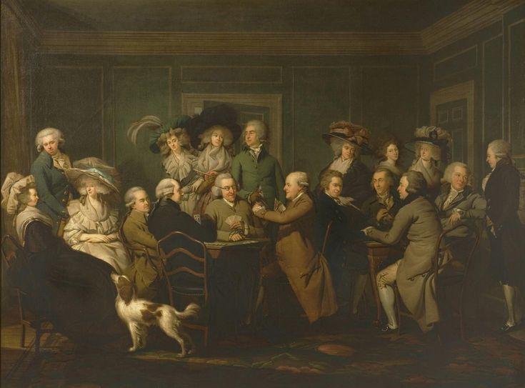 Portrait of Thomas Payne with His Family and Friends Louis François Gérard van der Puyl 1787