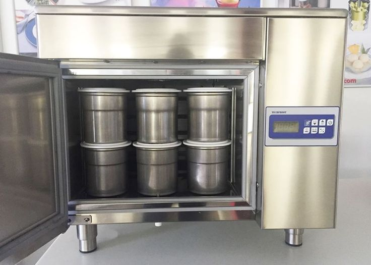 The Blast Freezer JOF One Can Hold 30 Pacojet Beakers