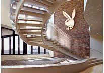 Image: The headquarters of Playboy Enterprises in Beverly Hills, Calif. (© Playboy via Facebook)