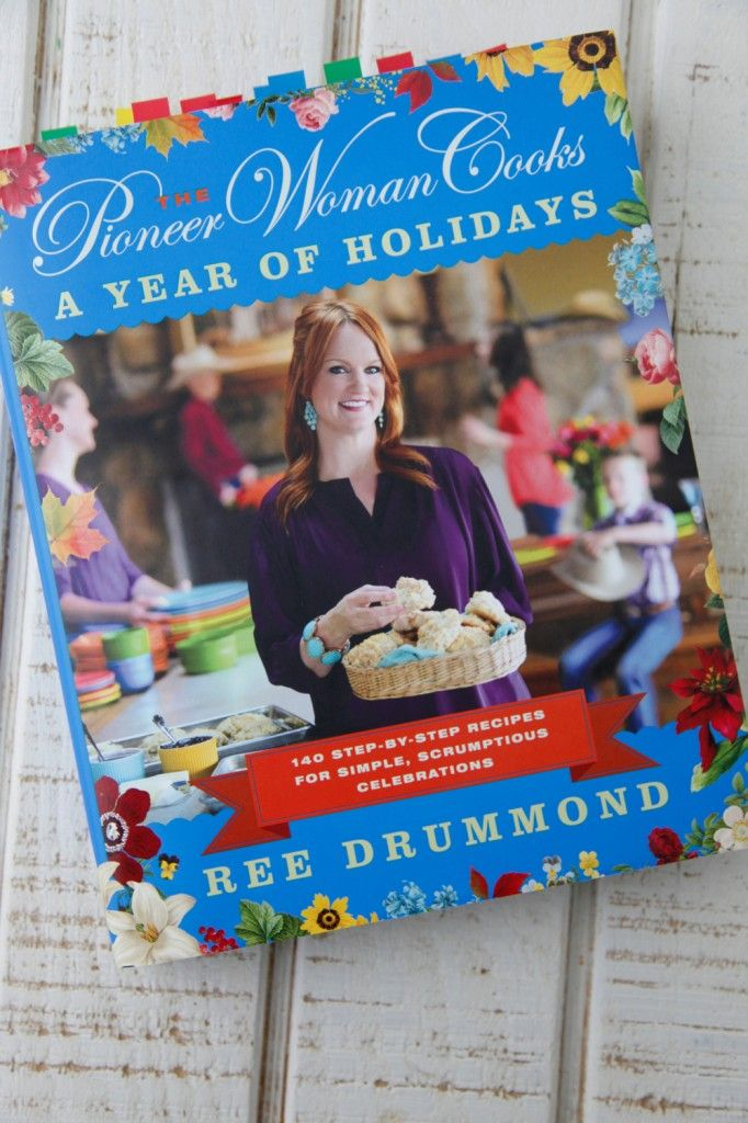 THREE SIGNED copies of the Pioneer Woman's A Year of Holidays on Weelicious!