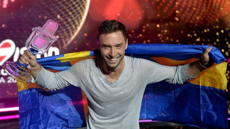Eurovision Song Contest 2015: The top of the leaderboard: 1. Sweden. Mans Zelmerlow - Heroes. 365 points 2. Russia. Polina Gagarina - A Million Voices. 303 3. Italy. Il Volo - Grande Amore. 292 4. Belgium. Loic Nottet - Rhythm Inside. 217 5. Australia. Guy Sebastian - Tonight Again. 196