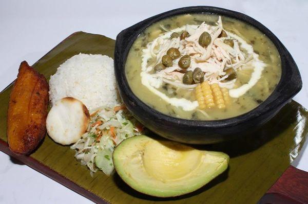 Cazuela de Ajiaco - La Barra Resturante #Cali #Colombia