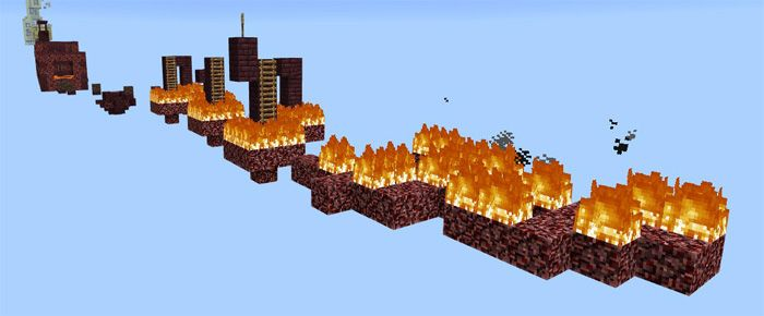 Here is actually the longest parkour map you can enjoy in Minecraft. It takes you about 30 minutes to complete the game; however, you can shorten the time with your high skill. If you love the challenge, Ghost Jump [Parkour] Map is an ideal option. In each new level, there is a checkpoint to... http://mcpebox.com/ghost-jump-parkour-map-minecraft-pe/