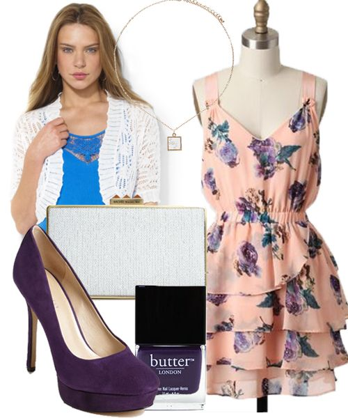 May Morning Outdoor Wedding Guest Dress Outfit