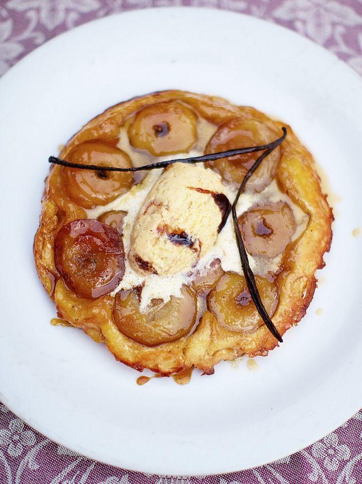 The world-famous tarte Tatin