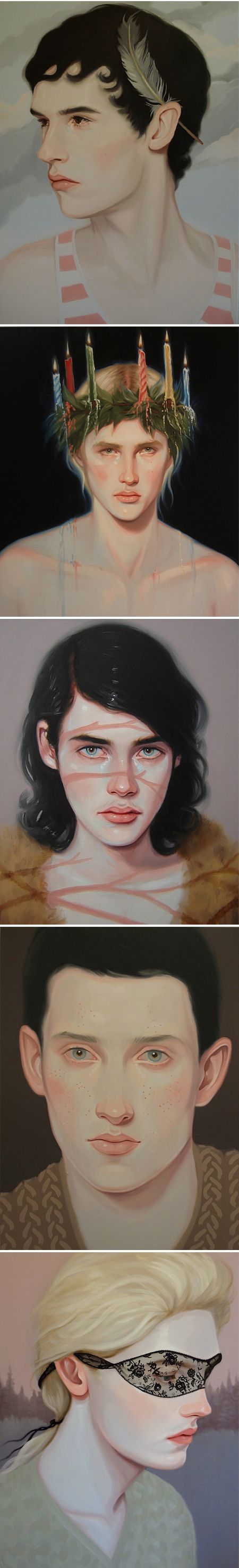 Portraits; omg im obsessed with this WTAF WOW.WOW.WOW. i am doing portraits like these with this color palette