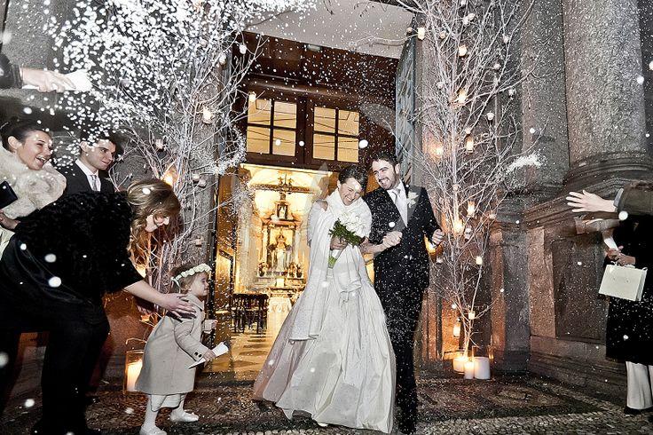 December 17, 2011 - Niccolò and Paola's marriage La gioia all'uscita dalla chiesa