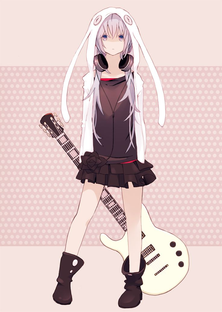 17 Best Images About Guitar Girl On Pinterest Cute Manga