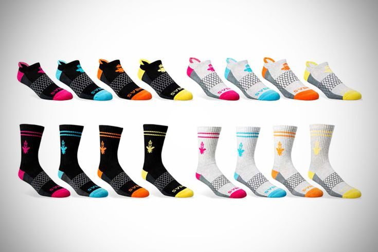 Bombas Socks - Engineered Socks- for every pair sold, they donate a pair to the needy! :)