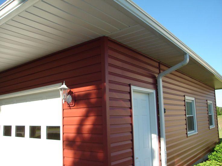 Finition classique des maisons en ossature bois Scandinaves - peindre une facade de maison