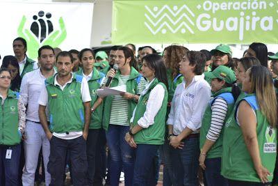 Con la #OperaciónGuajira el ICBF atendió directamente a 20.000 personas