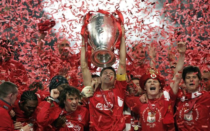 Champions League Cup Liverpool