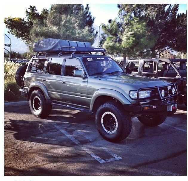 FJ80 Land Cruiser bumper