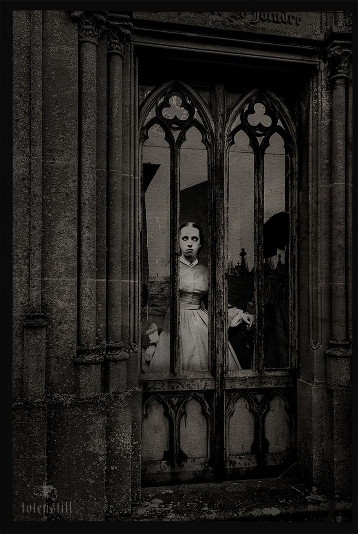 Gothic, Cemetery, Friedhof, Victorian, Collage