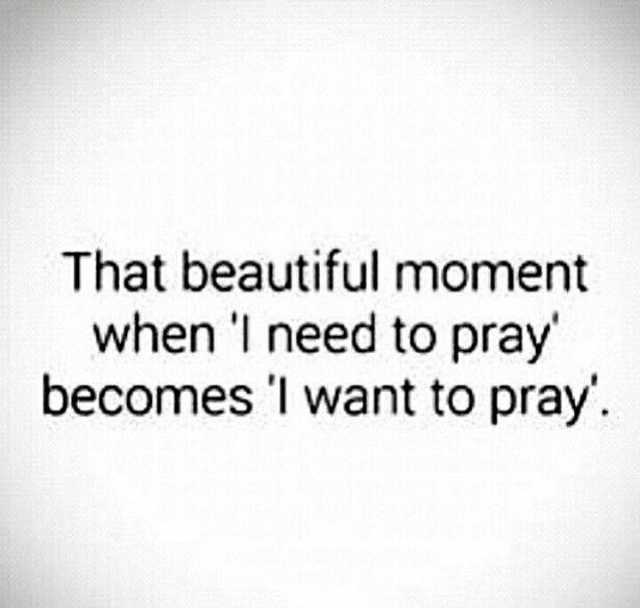 Subhaan Allah so true..I cannot fall asleep without praying..