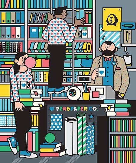 Área Visual: Las ilustraciones vectoriales de Rami Niemi                                                                                                                                                                                 Más
