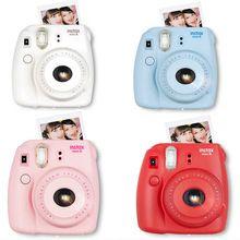 Fuji mini câmera de 8 filme instantâneo fujifilm fuji instax mini 8 foto Nova câmera 5 Cores Branco Amarelo Rosa Azul Red Hot Sale 2016(China (Mainland))