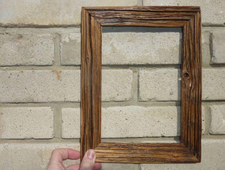 Dřevěné fotorámy v retro designu