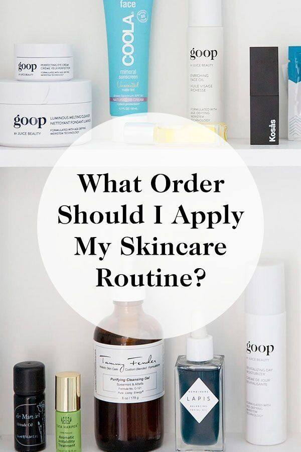 What Order Should I Apply My Skincare Routine Click Through For Our Beauty Tips And Advice Diybeautysecrets Skin Routine Order Skin Care Acne Skin Routine