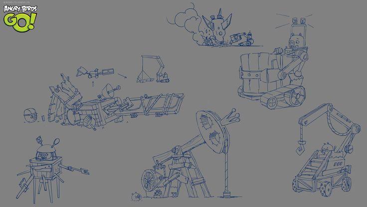 ArtStation - stunt sketches, Sukhbir Purewal