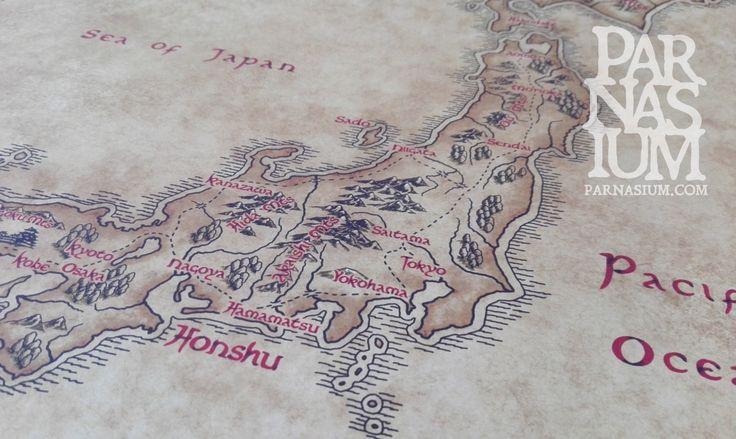 Fantasy Map of Japan
