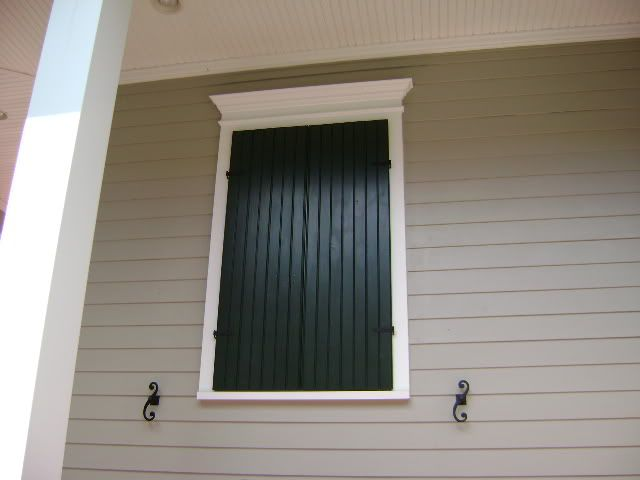 Has anyone built their working shutters for the outside of their home i would like to use a - Long lasting exterior paint design ...