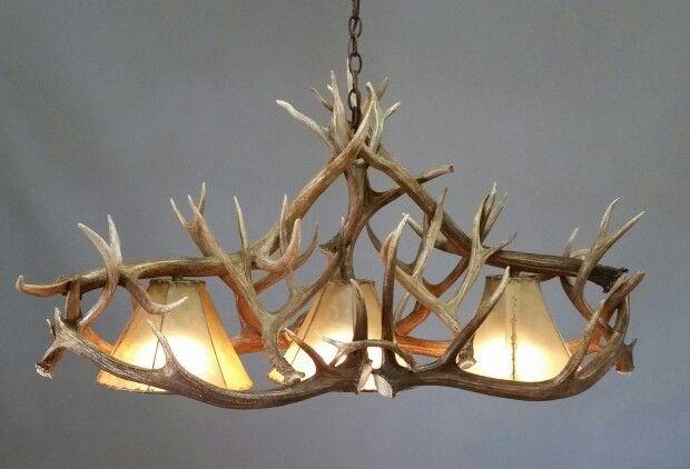 Antler Foyer Lighting : Pool table antler chandelier chandeliers custom