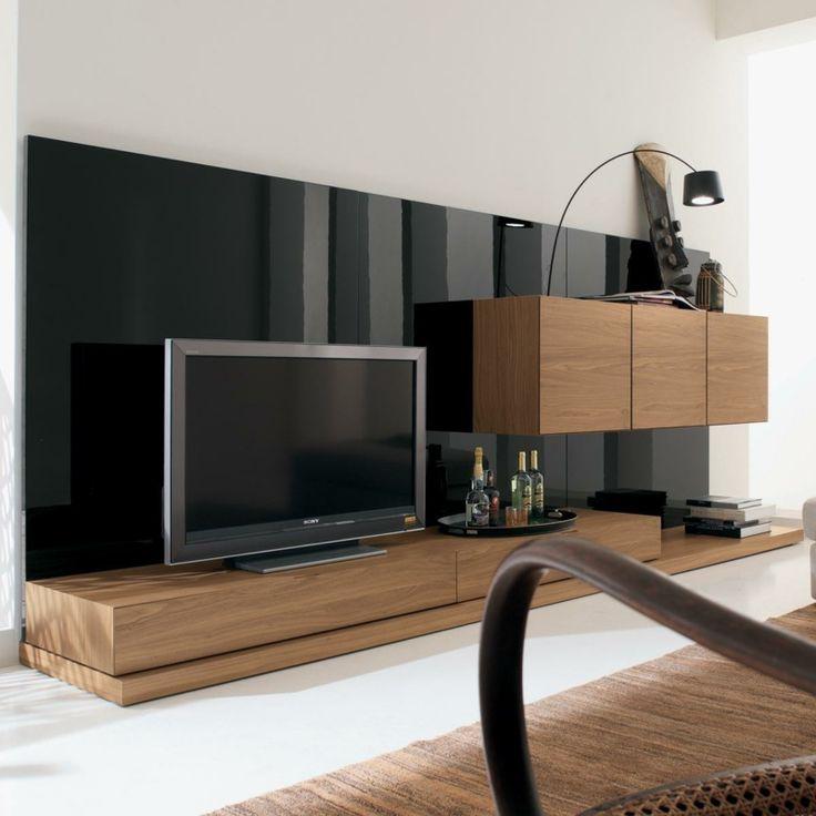 Die besten 25+ Tv wand modern Ideen auf Pinterest Tv wand - wohnzimmer ideen fernseher