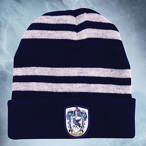 This harry potter movie props hat is made of acrylic and features the Ravenclaw House Coat of Arms patch. This officially licensed piece is a great addition to any Harry Potter ensemble. #harrypotter #harrypottermerchandise
